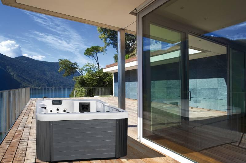 Vasche idromassaggio da esterno, minipiscine spa