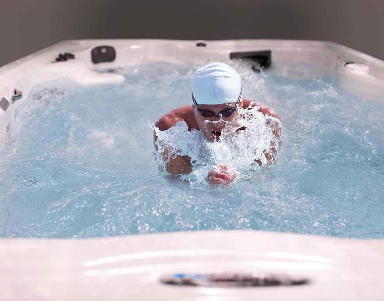 Vasca Da Nuoto : Vasche idromassaggio da esterno minipiscine spa